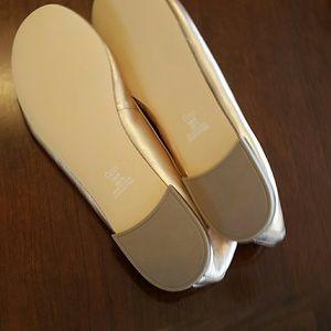 da636d64e GAP Shoes | Rose Gold Leather Ballet Flats Nwot | Poshmark
